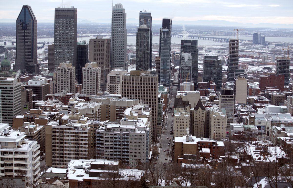 Baby, it's cold outside in Montreal - but real estate prices are staying hot.