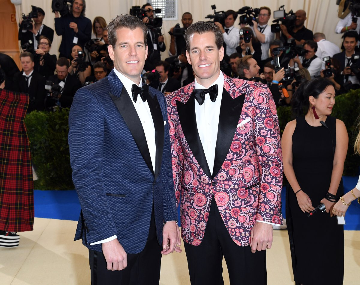 Tyler and Cameron Winklevoss just became the first known Bitcoin billionaires after investing $11 million in the digital currency in 2013.