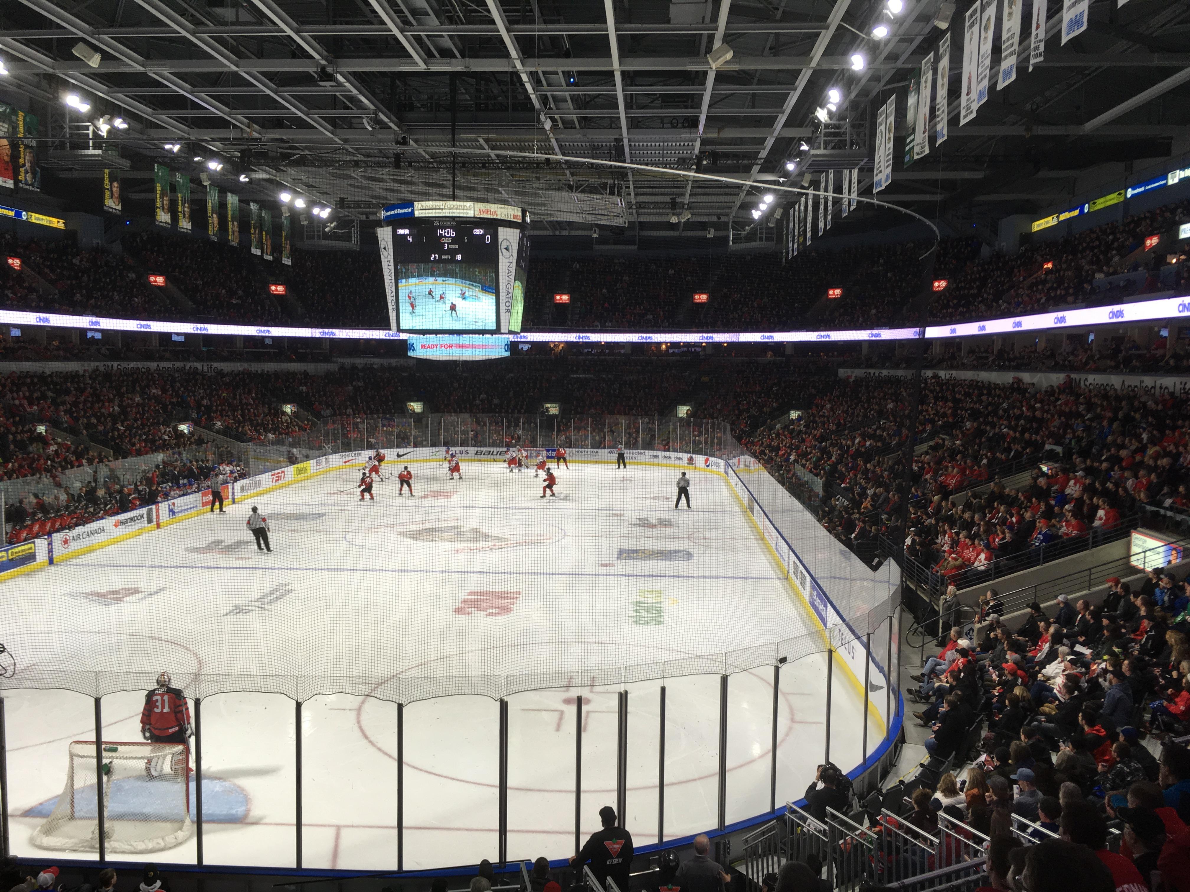 Team Canada Shines And So Does Budweiser Gardens Crowd London Globalnews Ca