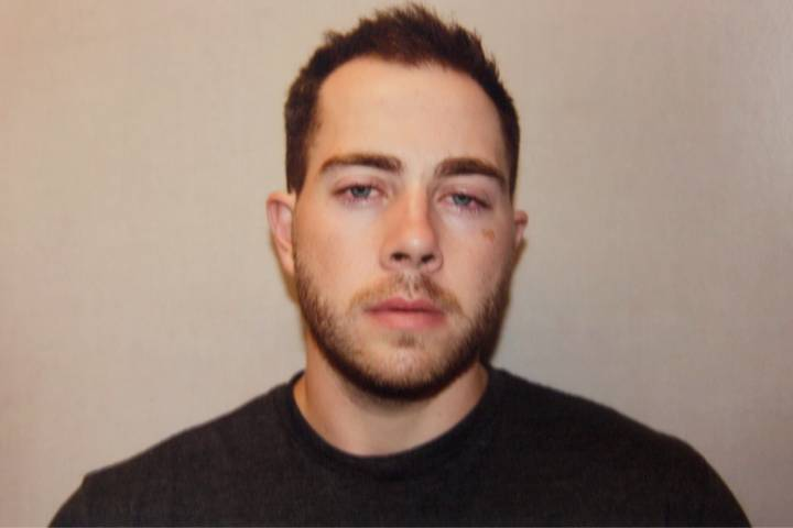 This photo was taken by police shortly after they arrested Christopher Garnier in September 2015.