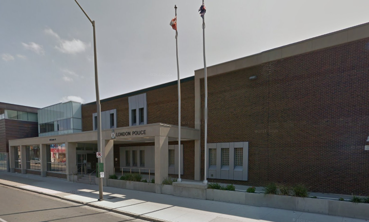 London Police Headquarters at 601 Dundas St.