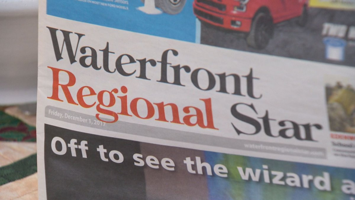 The Waterfront Regional Star's final issue was published on December 22.
