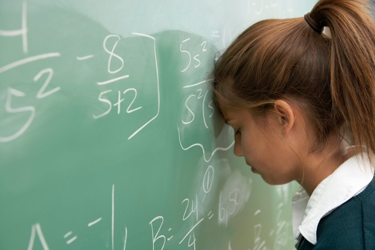 Almost 50 per cent of girls in Grade 3 feel they are good at math – that's compared to 62 per cent of boys, a new report says.