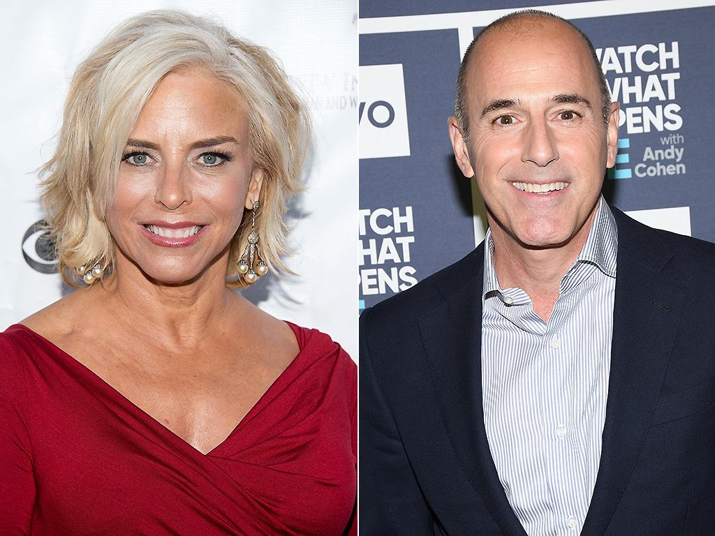 Nancy Alspaugh, Matt Lauer's ex-wife, has offered him her support, '100 per cent.' .