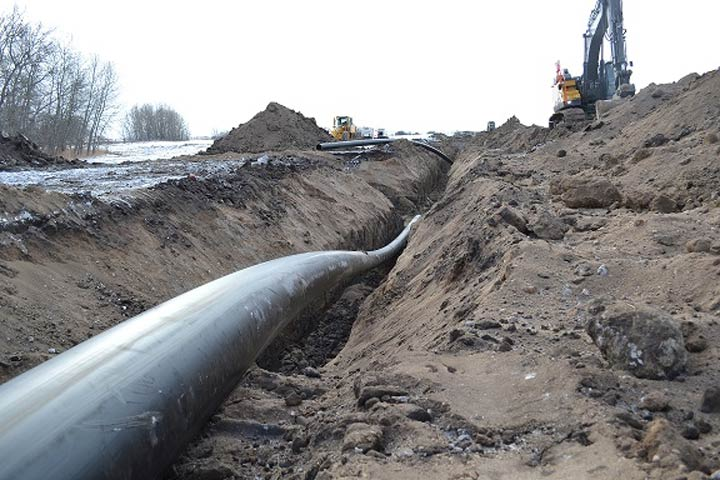 An ongoing infrastructure project for Melville, Sask., recently hit a milestone with the completion of a water pipeline.
