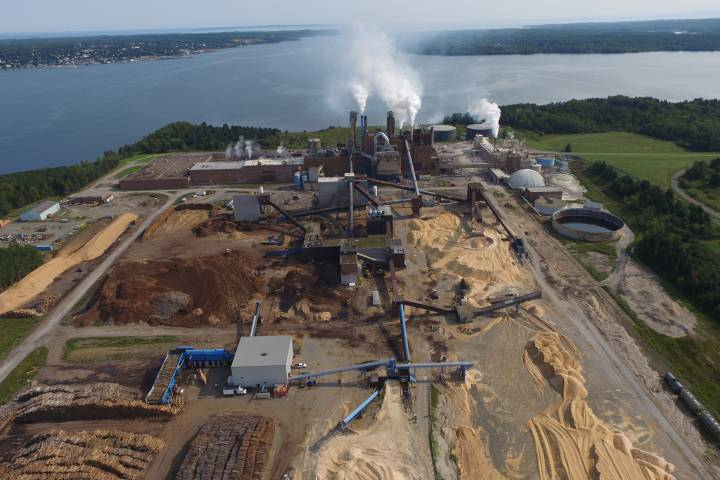 FILE - The Northern Pulp mill is seen in this file photo.