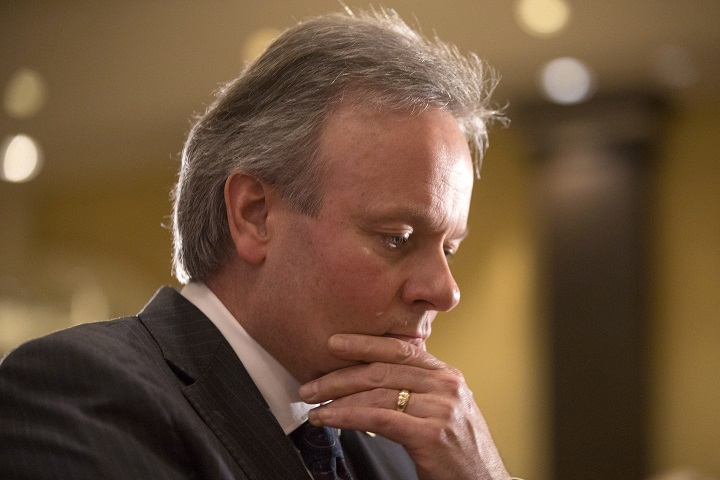 Bank of Canada Governor Stephen Poloz held Canada's trend-setting interest rate steady at 1.25 per cent on Wednesday, March 7, 2018, citing growing uncertainty over international trade.