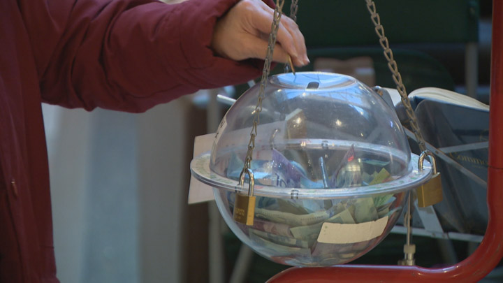 The Salvation Army says its London Christmas Kettle campaign is behind in fundraising.