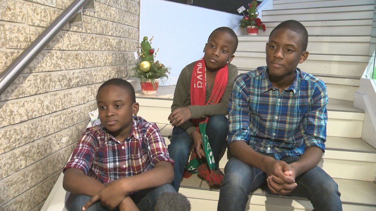 The Melisizwe Brothers – Zacary James, Seth James and Marc James – recently won Showtime at the Apollo Christmas.