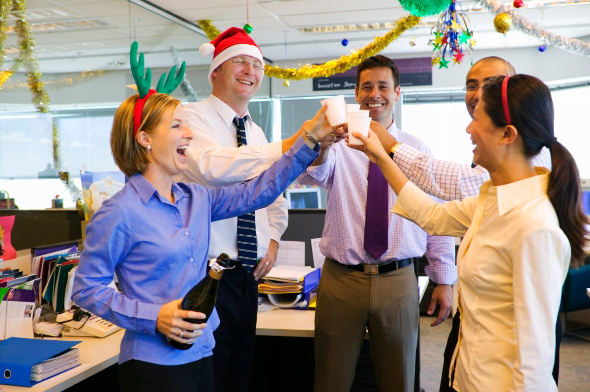 Workplaces are cutting back on their holiday parties, a new survey reveals.