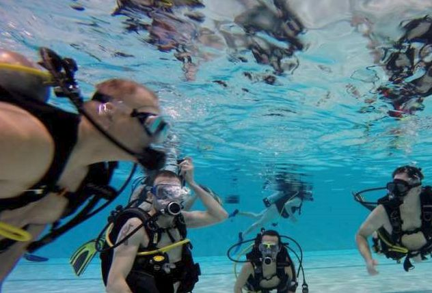 CottonTail Corner has been organizing naturist swims, including scuba events, in Edmonton for years.