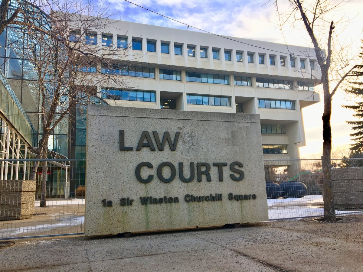 The law courts in Edmonton on Wednesday, Jan. 24, 2018.
