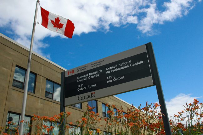 The National Research Council Canada office in Halifax, N.S., Aug. 10, 2015.