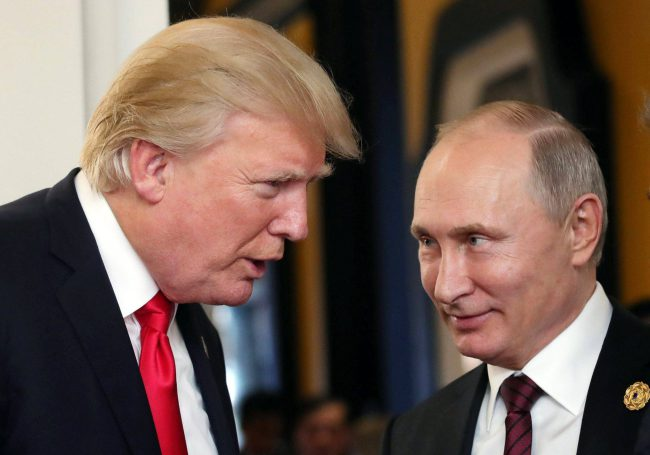"""A new report says Donald Trump is """"clearly"""" ignoring the growing Russian threat to  U.S. security."""