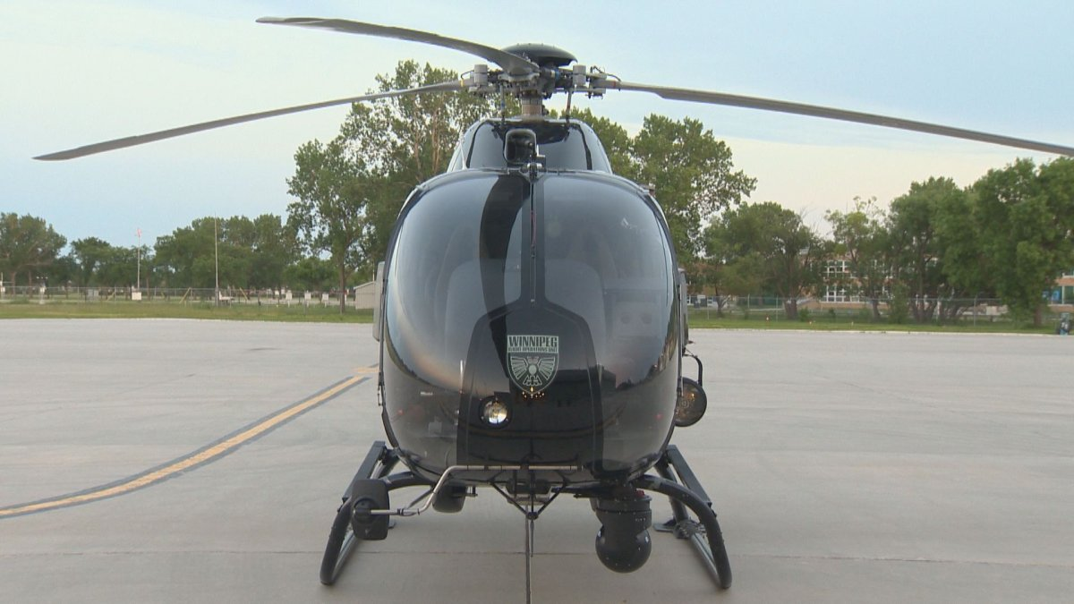 The Winnipeg Police Service helicopter Air1 was first brought into service in 2011.