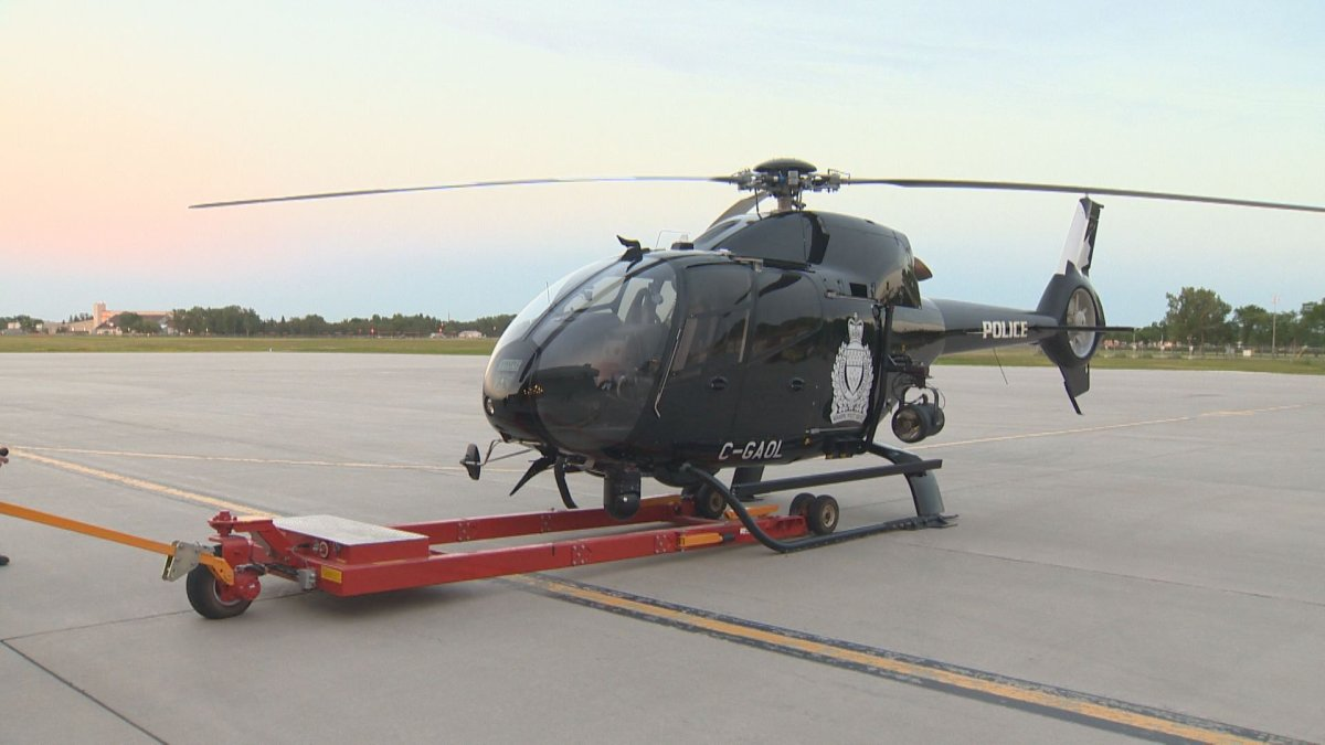 Winnipeg Police Service helicopter Air1.