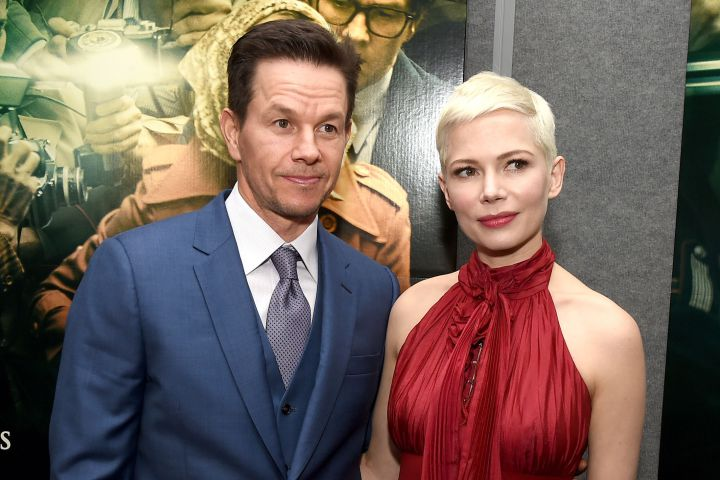 (L-R): Mark Wahlberg and Michelle Williams.