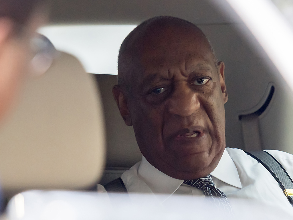 Bill Cosby leaves the Montgomery County Courthouse after a pre-trial hearing to discuss Cosby's new legal team on August 22, 2017 in Norristown, Penn.