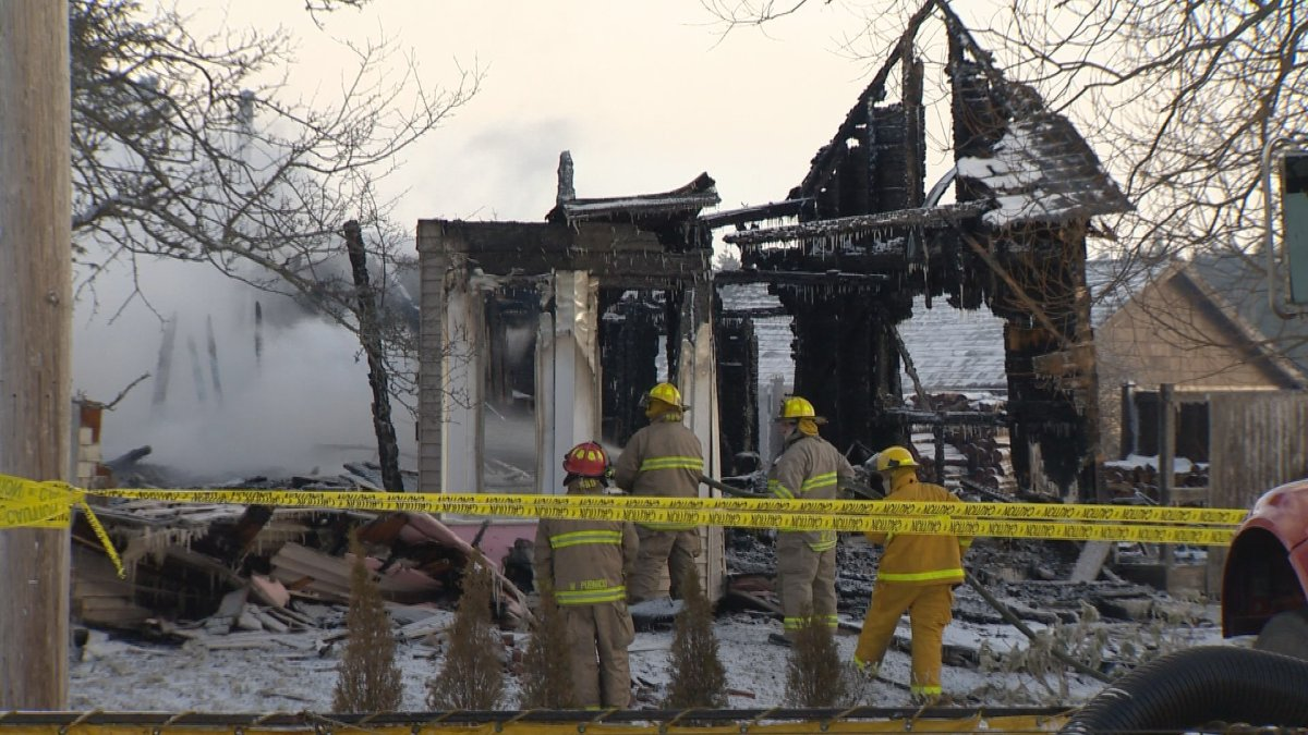 Officials are still working to determine the cause of a fire in Pubnico Head, N.S. on Sunday that left four children dead.