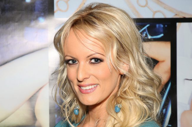 Adult film actress Stormy Daniels attends the 2014 AVN Adult Entertainment Expo at the Hard Rock Hotel & Casino on January 16, 2014 in Las Vegas, Nevada.