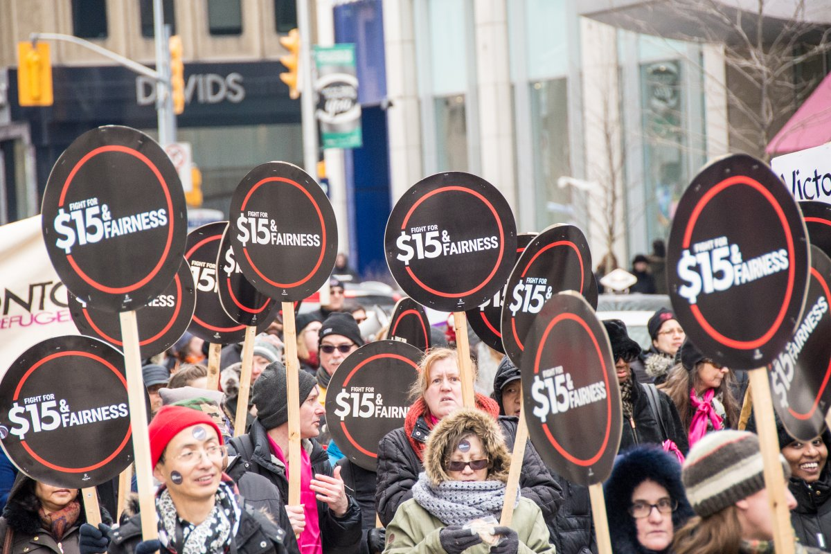 Ontario is starting to feel the ripple effects of it plan to establish a $15 minimum wage.