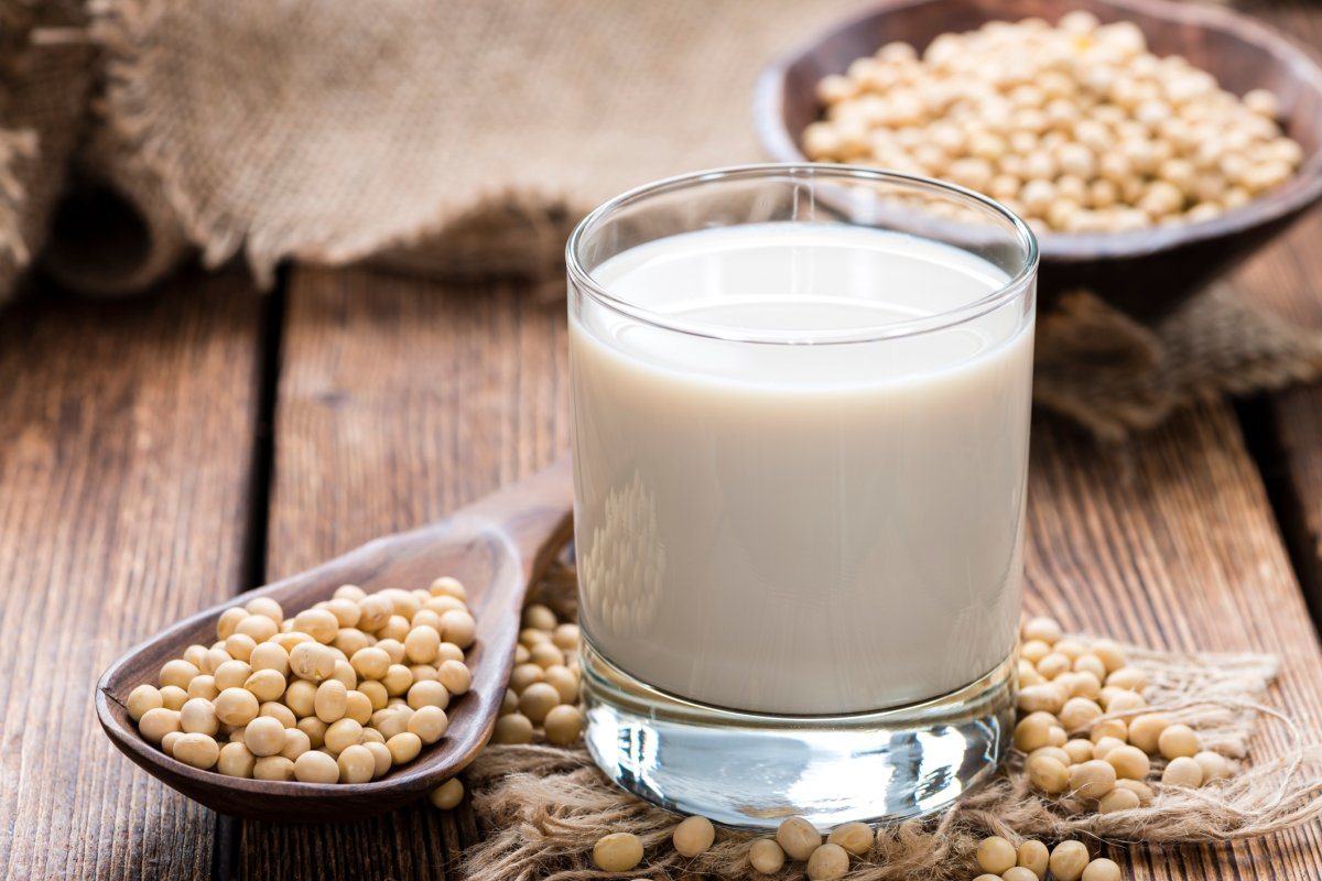 After cow's milk, soy milk is the most nutritious option according to new research.