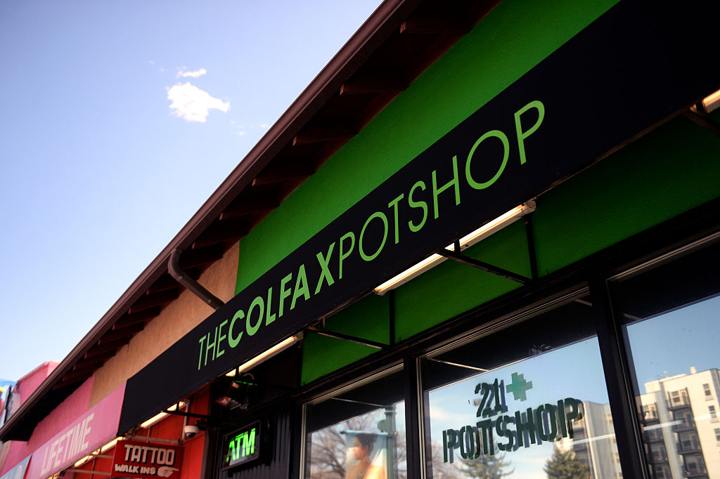 The Colfax Pot Shop is a medical and recreational marijuana dispensary located in Denver, Colo.