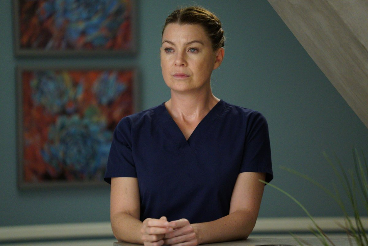 Ellen Pompeo as Meredith Grey in 'Grey's Anatomy.'.