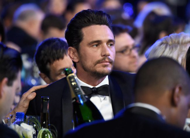Actor James Franco attends the 24th Annual Screen Actors Guild Awards at The Shrine Auditorium on January 21, 2018 in Los Angeles, California.