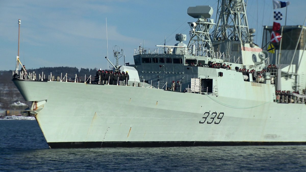 HMCS Charlottetown returned to CFB Halifax on Jan. 19 following a six-month deployment.