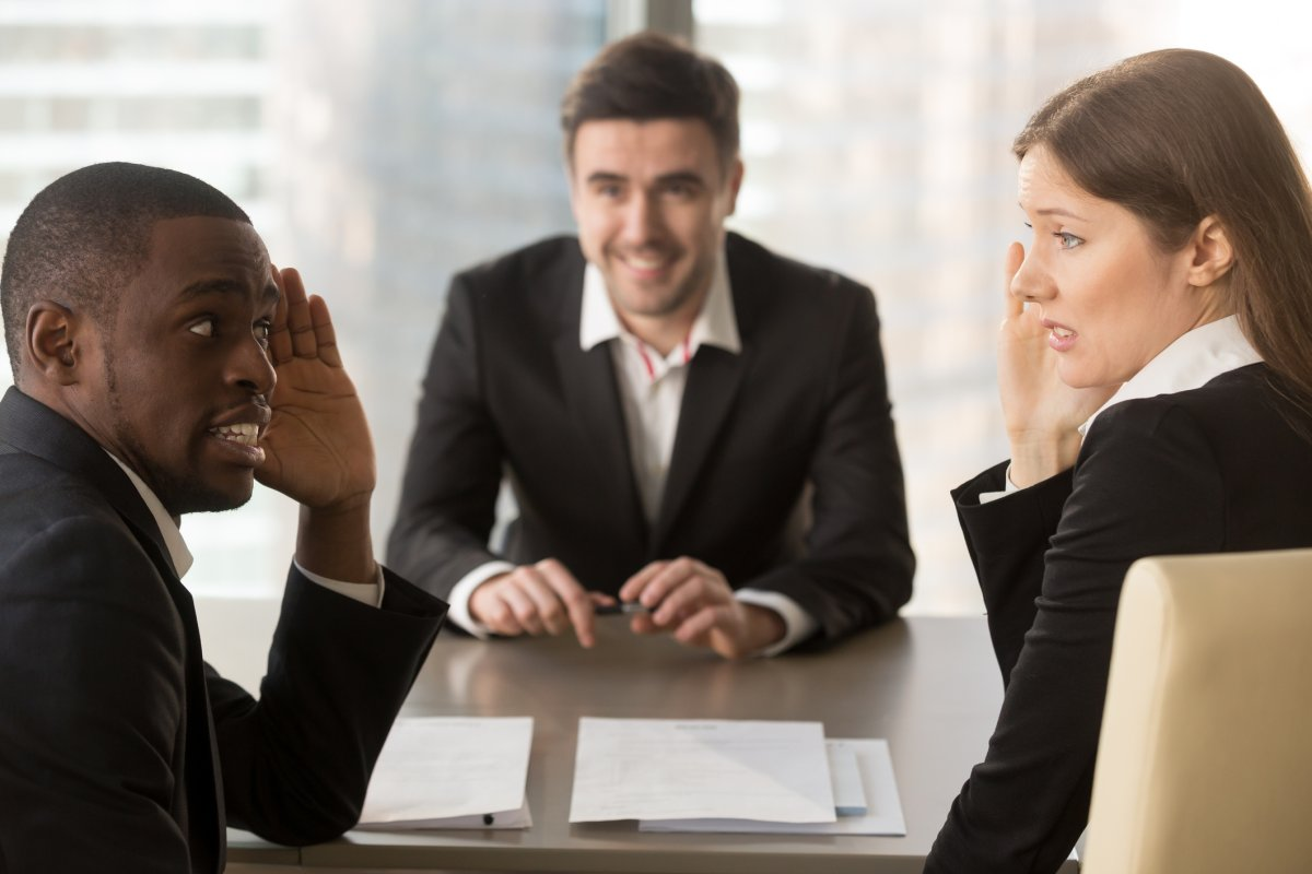 Avoid swearing in a job interview, career experts warn.