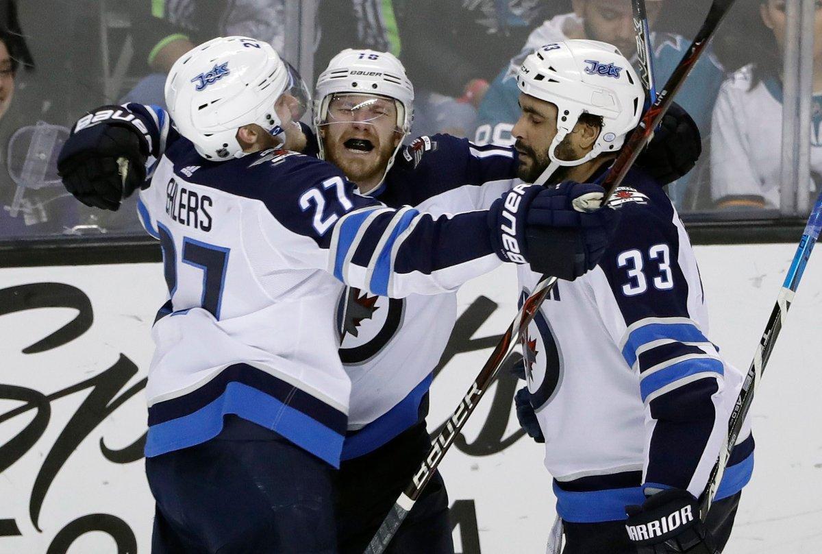 Winnipeg Jets End Overtime Drought With A Win In San Jose Winnipeg Globalnews Ca