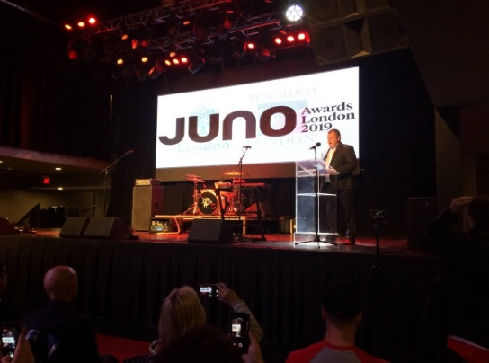 The city of London will host the Juno Awards in March 2019. (Photo by Liny Lamberink/980 CFPL).
