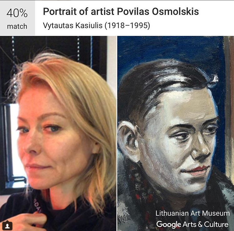 "Many celebrities, including Kelly Ripa, have joined in and posted their likeness using the ""Museum Selfie"" feature."