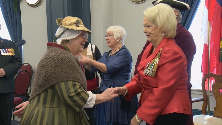 The Lieutenant Governor hosts her final New Year's day levee at Government House in Regina.