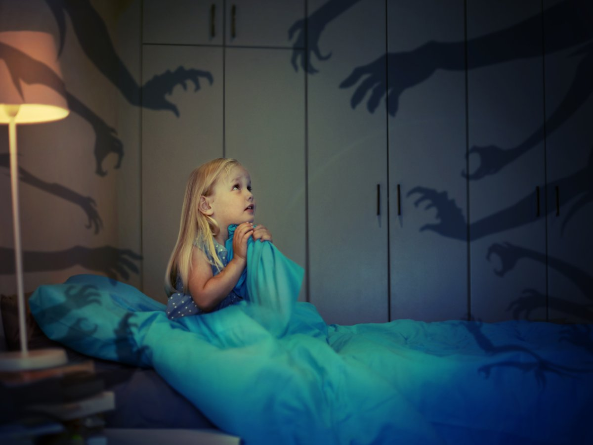 Night terrors usually strike kids between the ages of three and 12, and there's no way to console them or snap them out of one.