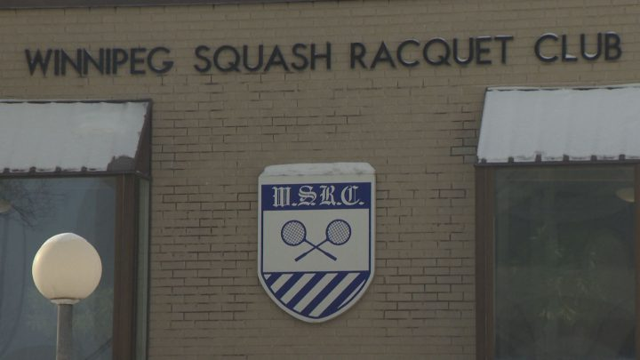 The Winnipeg Squash Racquet Club allows women to enter as guests and to attend events, but restricts membership to men.