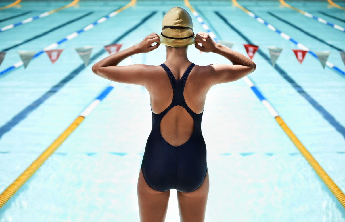 Swimming can burn between 240 and 355 calories in a half hour, Harvard Medical School says.