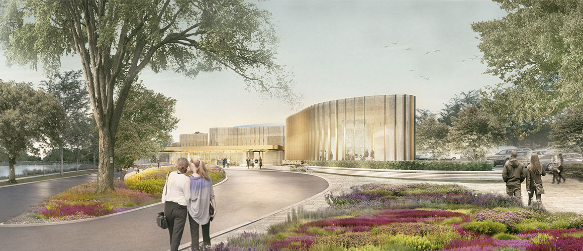 A rendering of the new Tom Patterson Theatre Centre.