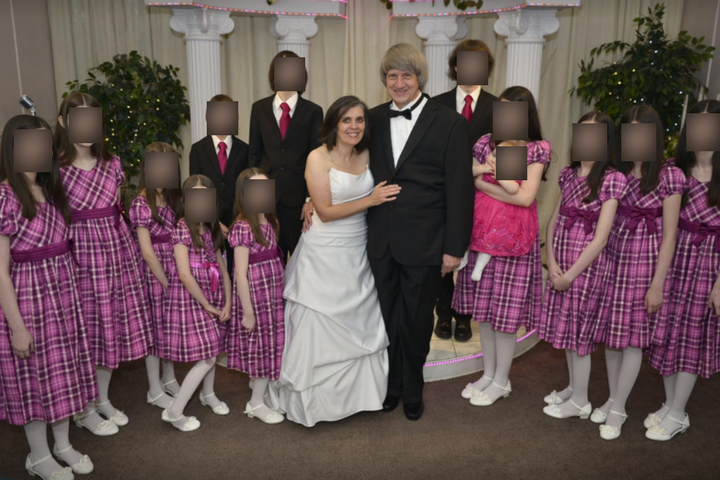 A photo of the Turpin family posted on Facebook in 2016.