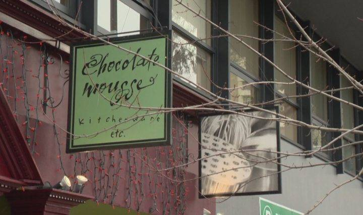 Chocolate Mousse Kitchenware announced plans to close in the face of a 93 per cent property tax hike.