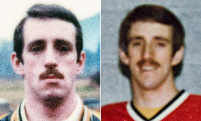 Former RCMP officer Alan Davidson is seen in undated RCMP handout photos.