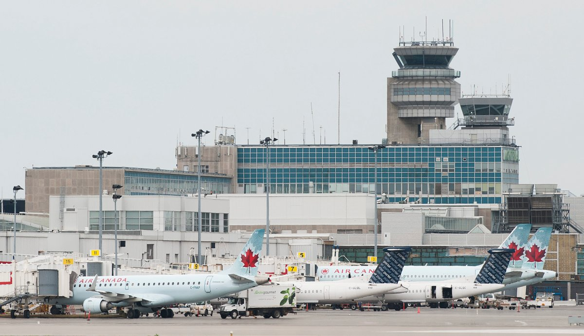 FILE - An internal report says most Mexican refugee claims are being made at Pierre Elliott Trudeau airport.