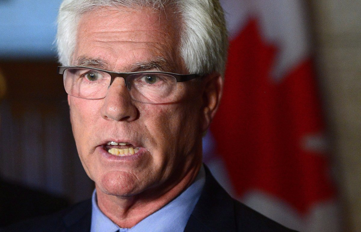 Jim Carr, Federal Minister of Natural Resources.
