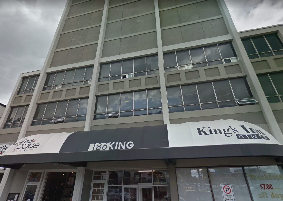 Ontario's first temporary overdose prevention site will be located at 186 King Street in London, Ontario.