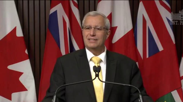 Interim Ontario PC Party Leader Vic Fedeli says he has instructed the party's lawyers to end a legal battle against Jim Karahalios.