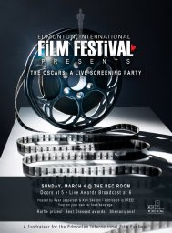 Continue reading: The OSCARS: A Live Screening Party