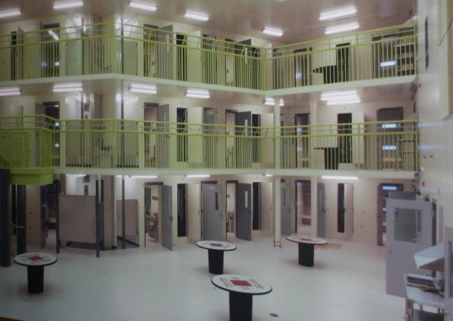 Inside the new Okanagan Correctional Centre near Oliver, B.C.