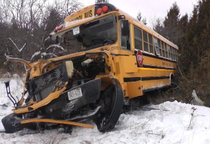Multiple Factors Caused Crossing Collision Between Train School Bus Near Colborne Tsb Peterborough Globalnews Ca