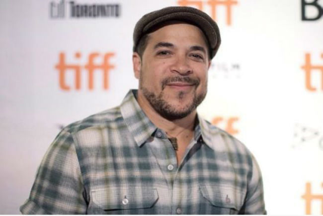 """Cory Bowles, director of """"Black Cop,"""" arrives on the red carpet as the Toronto International Film Festival announces their Canadian features for this year's programme in Toronto Wednesday August 9 , 2017."""